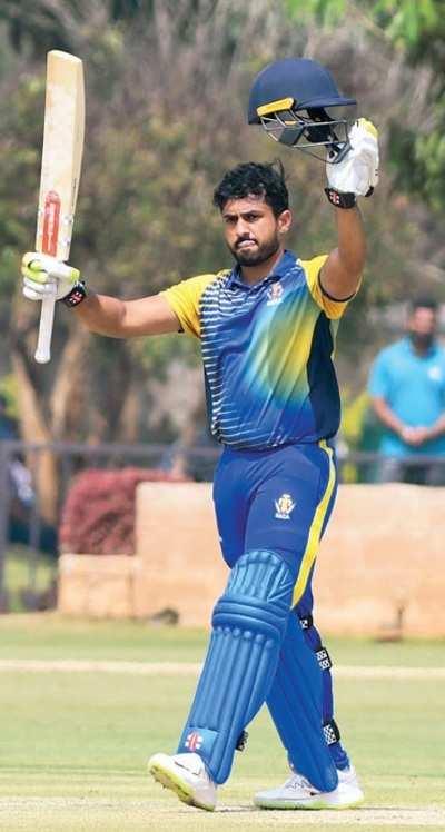 Openers slam tons to lead Karnataka to crushing 133-run win over Odisha in Vijay Hazare Trophy