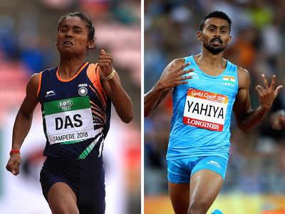 Hima Das, Muhammed Anas win gold in Czech Republic