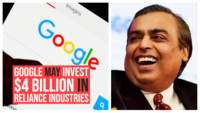 Google may invest $4 billion in Reliance Industries, reports indicate