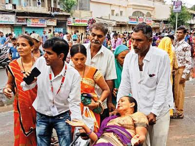 Five suffer health emergencies during rathyatra