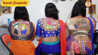 Navratri 2019: Temporary tattoos in demand in Surat