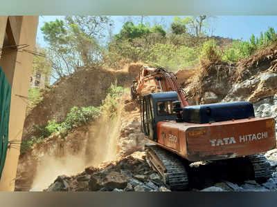 Collector orders FIR against builder who dug up Gilbert Hill