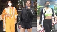 #CelebritiyEvenings: From Fatima Sana Shaikh to Neha Sharma, Bollywood celebs spotted in Mumbai