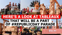 Here's a look at tableaux that will be a part of the Republic Day parade