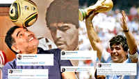 Football legend Diego Maradona dies, celebs pay tribute