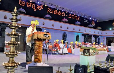 This year's Alva's Nudisiri Lit Fest kicked off with the theme 'Karnataka: Foundations of Pluralism'