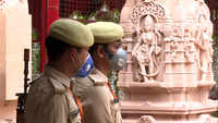 Security stepped up in Ayodhya ahead of Bhoomi Poojan