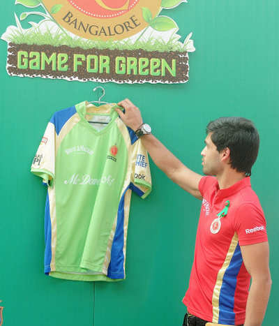 IPL 2018: RCB players to don green jerseys against RR on April 15