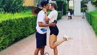 Actress Drashti Dhami shares a passionate kiss with hubby Niraj Khemka, picture goes viral