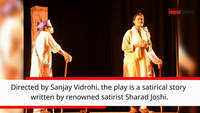 Satirical play 'Andhon Ka Haathi' staged in Jaipur