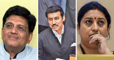 Cabinet reshuffle: Smriti Irani removed as I&B Minister, Rajyavardhan Rathore takes charge; Piyush Goyal gets additional charge of Finance Ministry