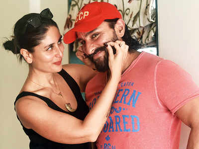 Spotted: Kareena Kapoor Khan and Saif Ali Khan in Khar