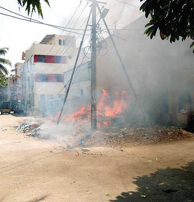 NGO registers 40 garbage-burning cases in Indiranagar