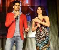 Sidharth raps as Jacqueline grooves to 'Bandook Meri Laila' at the song launch
