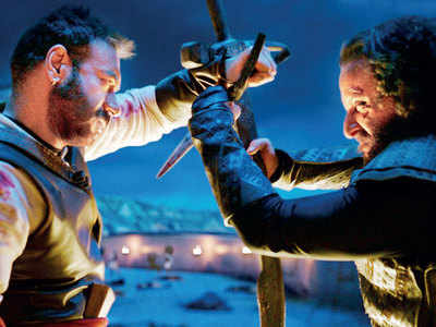 Ajay, Saif's period drama has an exhilarating action climax