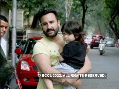 Saif Ali Khan: Taimur and I go to the same club and often like the same girl