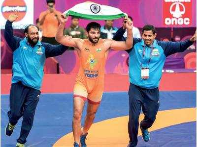 Asian Wrestling Championships: Sunil Kumar wins India's first Greco-Roman gold medal