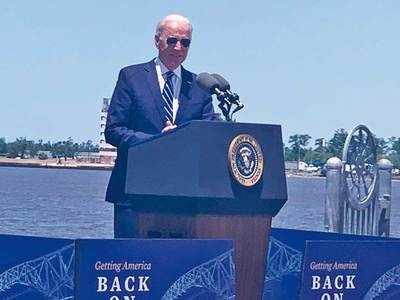 China eating our lunch, US must invest: Biden