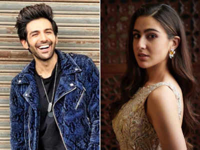 Fake or real? Watch: Sara Ali Khan and  Kartik Aaryan  locking lips