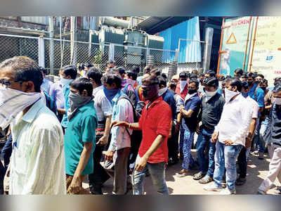 Four factories in Vasai flout shutdown order