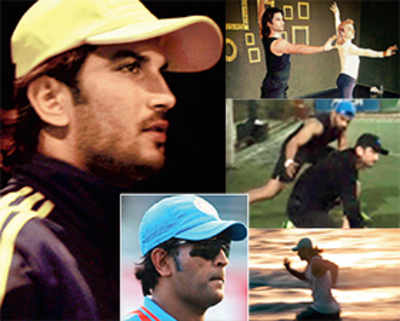 Sushant pads up as captain cool