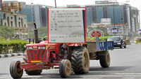 Tractor driver fined Rs 59,000 for violating traffic rules in Gurugram
