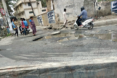 Residents complain of BBMP apathy, road left dug up after water line is laid