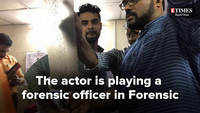I want to essay a forensic surgeon in all his authenticity: Tovino