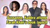 Sussanne Khan, Kubbra Sait attend Farah Khan's book launch