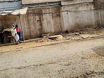 Panathur Road paralysed by delay in repair
