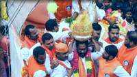 Balapur Ganesha laddu auctioned for Rs 17.6 lakh, record highest price