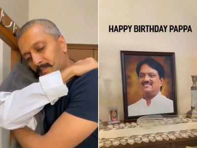 Watch: Riteish Deshmukh remembers dad Vilasrao Deshmukh with an emotional video on his 75th birth anniversary