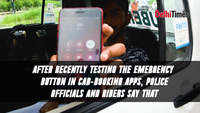 Safety buttons on cab-booking apps connect to police, but not of much use as they do not share location