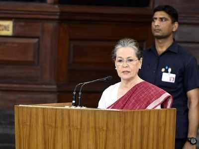 Sonia Gandhi elected leader of Congress Parliamentary Party, to appoint floor leaders soon