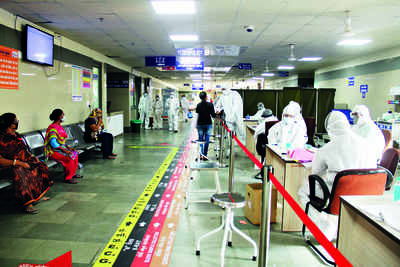Critical covid-19 patients count on Ahmedabad civil as their last hope