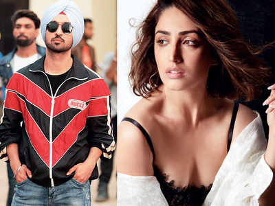 Diljit Dosanjh and Yami Gautam to pair up for the first time for a comedy