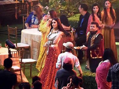 Spotted: Kareena Kapoor Khan at a shoot