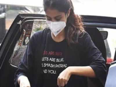 Rhea Chakraborty's T-shirt manufacturer clocks huge sales