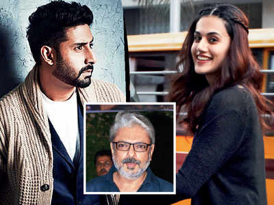 Heard this? Sanjay Leela Bhansali finds his Sahir Ludhianvi and Amrita Pritam in Abhishek Bachchan and Taapsee Pannu