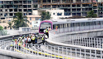 In a first, two Metro lines will run parallel