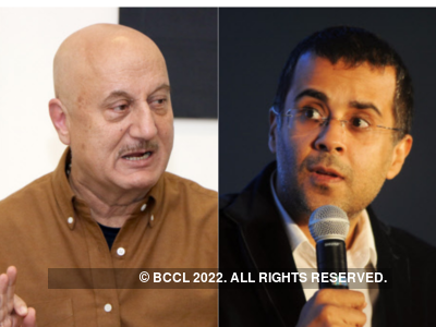 Anupam Kher lashes out at Chetan Bhagat for his 'Hindu Muslim' tweet