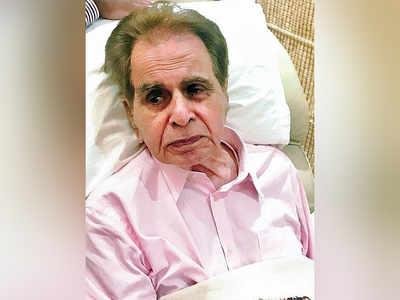 Dilip Sahab hospitalised