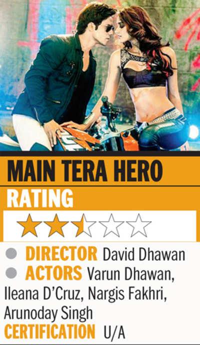 Film review: Main Tera Hero
