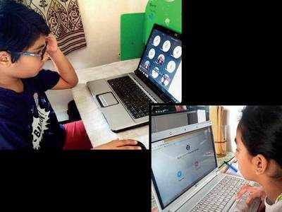 Online classes generate parents' mixed reaction