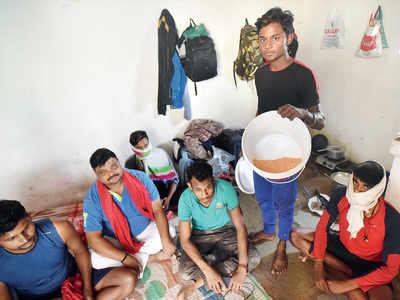 200 migrant workers marooned near Undri