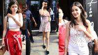 Ananya Panday, Shanaya Kapoor and Khushi Kapoor look gorgeous as they get papped together