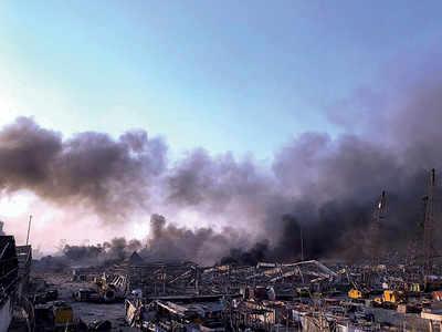 Massive blast in Beirut kills at least 10, damages port area