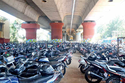 Fed up of Hebbal jams? Wait till parking under flyover gets legalised
