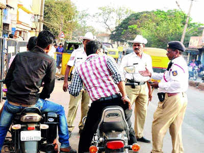 Traffic police net a fine Rs 18 cr in October