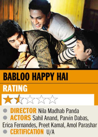 Film review: Babloo Happy Hai